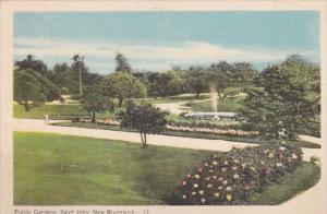 Canada St John Public Gardens