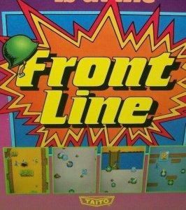 Front Line Arcade FLYER Original Vintage 1982 Game Artwork Sheet Battle Combat