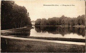 CPA Ermenonville- Etang dans le Parc FRANCE (1020482)