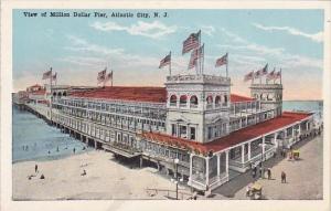 New Jersey Atlantic City View Of Million Dollar Pier