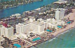 Ocean Front Hotels Allison Island And Indian Creek In The Background Pools Mi...