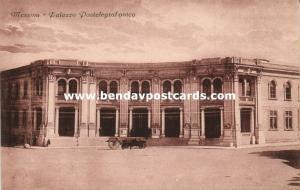 italy, MESSINA, Sicily, Palazzo Postelegrafonico (1910s)