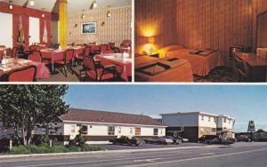3-views,  Hotel-Motel Du Havre,  Havre St. Pierre,  Quebec,  Canada,  PU_1989