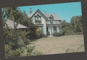Crellin/Espy House Postcard Wisconsin Victorian Home Unposted