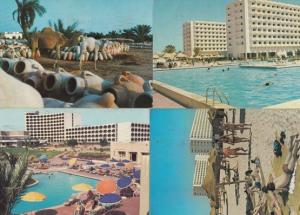 Guellala at Dusk Pottery Hotel Tour Khalef Sahara Beach 4x Tunisia Postcard s