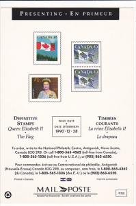 Definitive Stamps 1990 Canada Post Corporation