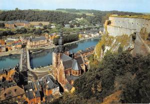 Belgium Dinant sur Meuse Church of Our Lady Bridge River Pont Eglise