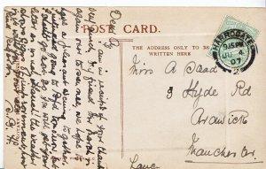 Genealogy Postcard - Family History - Stead - Ardwick - Manchester - Lancs V2245