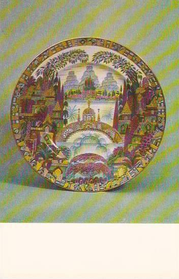 Russia Leningrad Plate Dream 1967 Museum Of The Lomonosov Porcelain Factory