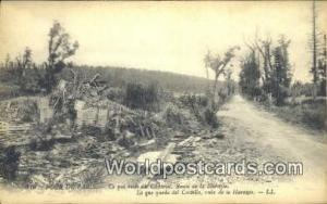Tour de Paris, France, Carte, Postcard Route de la Harazee Tour de Paris Rout...