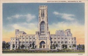 Scottish Rite Cathedral Indianapolis Indiana 1935