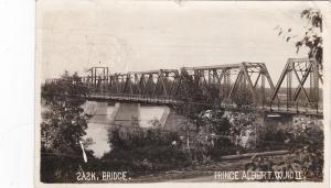 RP; Saskatchewan Bridge, Prince Albert, Saskatchewan, PU-1912