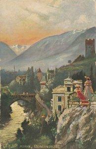MERAN , Italy , 1900-10s ; Steinernersteg ; TUCK 176 B