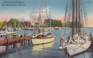 ST PETERSBURG , Florida, 30-40s; Central Yacht Basin