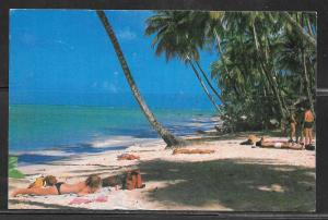 Trinidad, Tobago, Pigeon Point Beach, mailed 1983