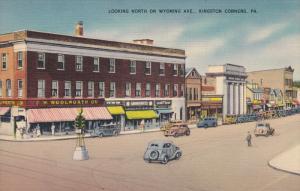 North on Wyoming Avenue , KINGSTONE CORNERS , Pennsylvania , 30-40s