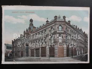 Bradford: Market Hall, Old PC showing LEUCTERS RESTAURANT