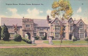 Virginia Richmond Virginia House Windsor Farms 1948