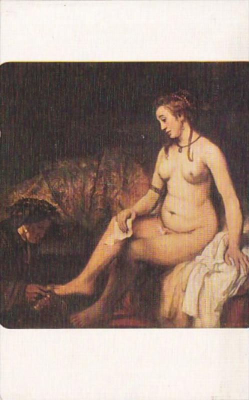 Rembrandt Bathseba Nude Topless