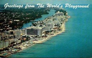 Florida Miami Beach Aerial View