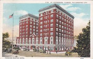 Florida Saint Petersburg Princess Martha Hotel 1938