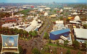 NY - New York World's Fair 1964-65. Aerial View