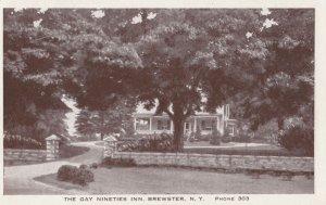 BREWSTER , New York , 1930s ; Gay Nineties Inn