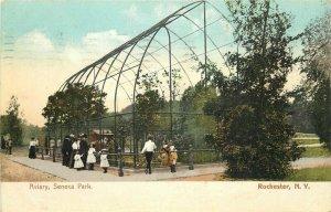 Aviary Seneca New York Rochester New York 1907 Postcard Polychrome 8220