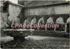 Postcard Modern Britain Daoulas cloister Romanesque XIIth