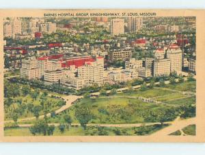 Linen HOSPITAL SCENE St. Louis Missouri MO hs0400