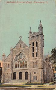 Bloomsburg Pennsylvania~Methodist Episcopal Church~Romanesque Style Bldg~c1910