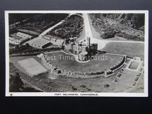 Berkshire SUNNINGDALE Fort Belvedere From The Air c1940 Postcard by Raphael Tuck