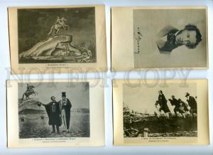 170148 Bronze Horseman PUSHKIN Set of 20 Cards HARD COVER Rare