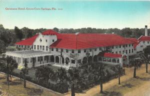 F13/ Green Cove Springs Florida Postcard c1910 Quisisana Hotel