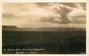 1930s Buffalo Range House Rock Valley Arizona RPPC Real photo 901 Frasher