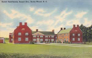 Sunset Apartments, Sunset Avenue, Rocky Mount, North Carolina, 30-40s