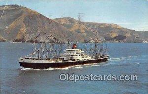SS President Lincoln Deluxe Sea Racer Cargoliner Ship 1966