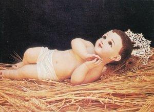 Novi Sad Serbia Doll Serbian Royal Crown Farm Hay Postcard