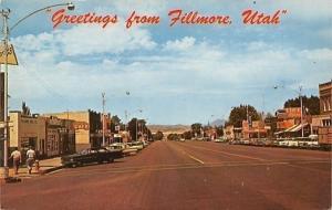Fillmore Utah~Main Street~Cafe Ilene~Beer~Avalon Theatre~IH Sign~1950s Cars