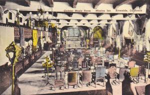 Cloister Music Room Mission Inn Riverside California Handcolored Albertype