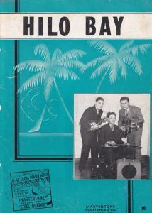 Hilo Bay Mastertone Gibson Guitar WW2 Sheet Music