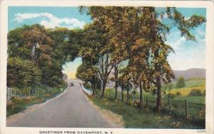 New York Greetings From Davenport Curteich