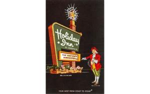 Holiday Inn Newburgh, New York Postcard