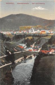 Mariazell Alpenbahnstrecke Total vom Ursprung Gesamtansicht Panorama