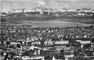B70371 Zurich panorama Switzerland