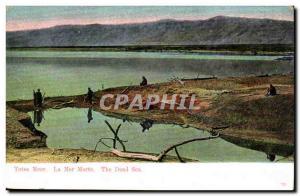 Jordan - Jordan - Dead Sea - Todes Sea - The Dead Sea Old Postcard