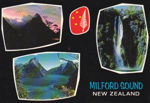 New Zealand Milford Sound and Stirling Falls