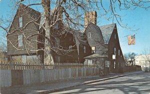 House of the Seven Gables Salem, Massachusetts Postcard