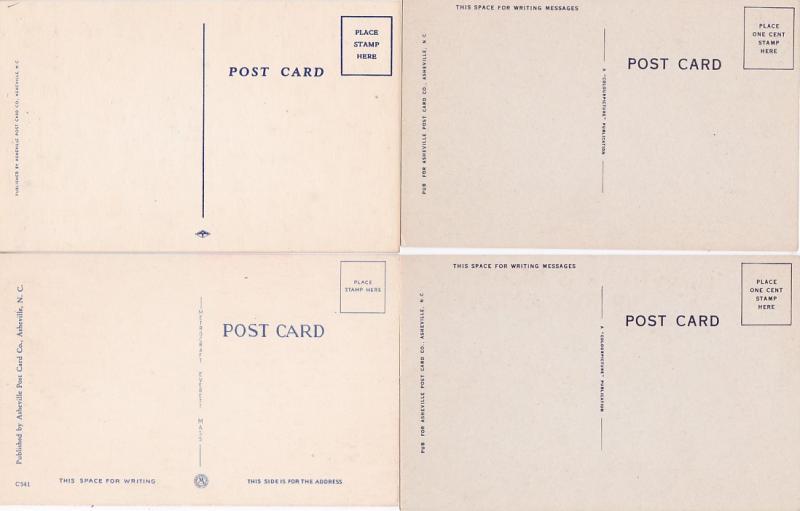 0195 Grabbag Auction 4 Comic Postcards Starting At .99