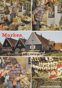 Multi-Views, Making Of Wooden Shoes By Hand, Marken (North Holland), Netherla...